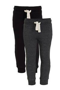 C&A Palomino joggingbroek - set van 2 zwart/melee, Zwart/melange