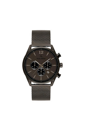 Grand Cornier Chrono Gunmetal horloge MM00125 antraciet