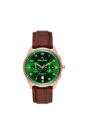chronograaf MM10002 bruin
