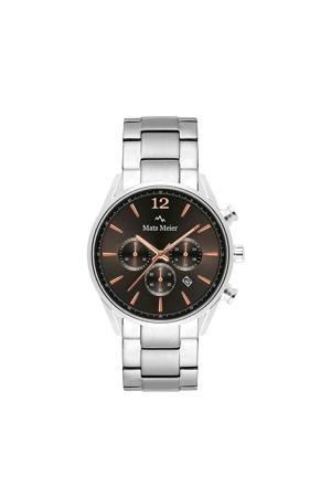 Grand Cornier Chrono horloge MM00126 zilver