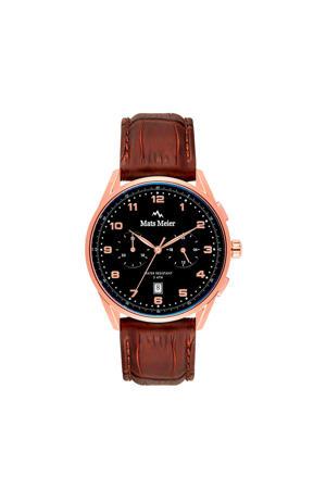 Mont Vélan Chrono horloge MM10001 bruin