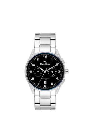 Mont Vélan Chrono horloge MM10004 zilver