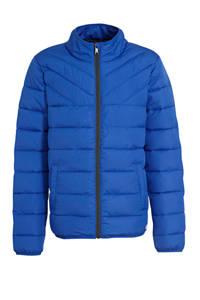 s.Oliver gewatteerde winterjas blauw, Blauw