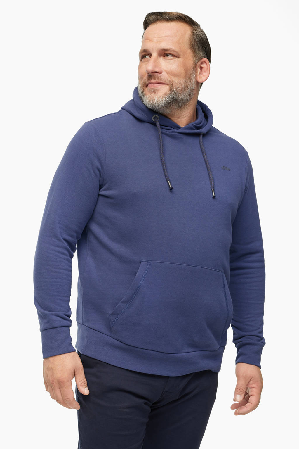s.Oliver hoodie blauw, Blauw