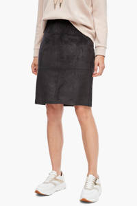 s.Oliver BLACK LABEL rok antraciet, Antraciet