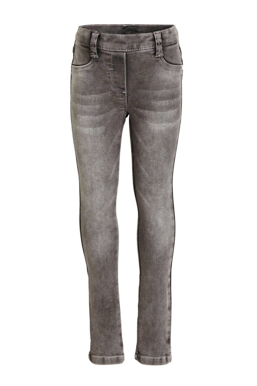 s.Oliver skinny jeans grijs stonewashed, Grijs stonewashed