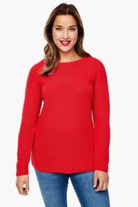 TRIANGLE trui rood, Rood