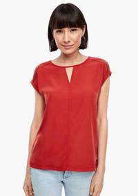 s.Oliver top rood, Rood