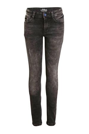 super skinny jeans antraciet