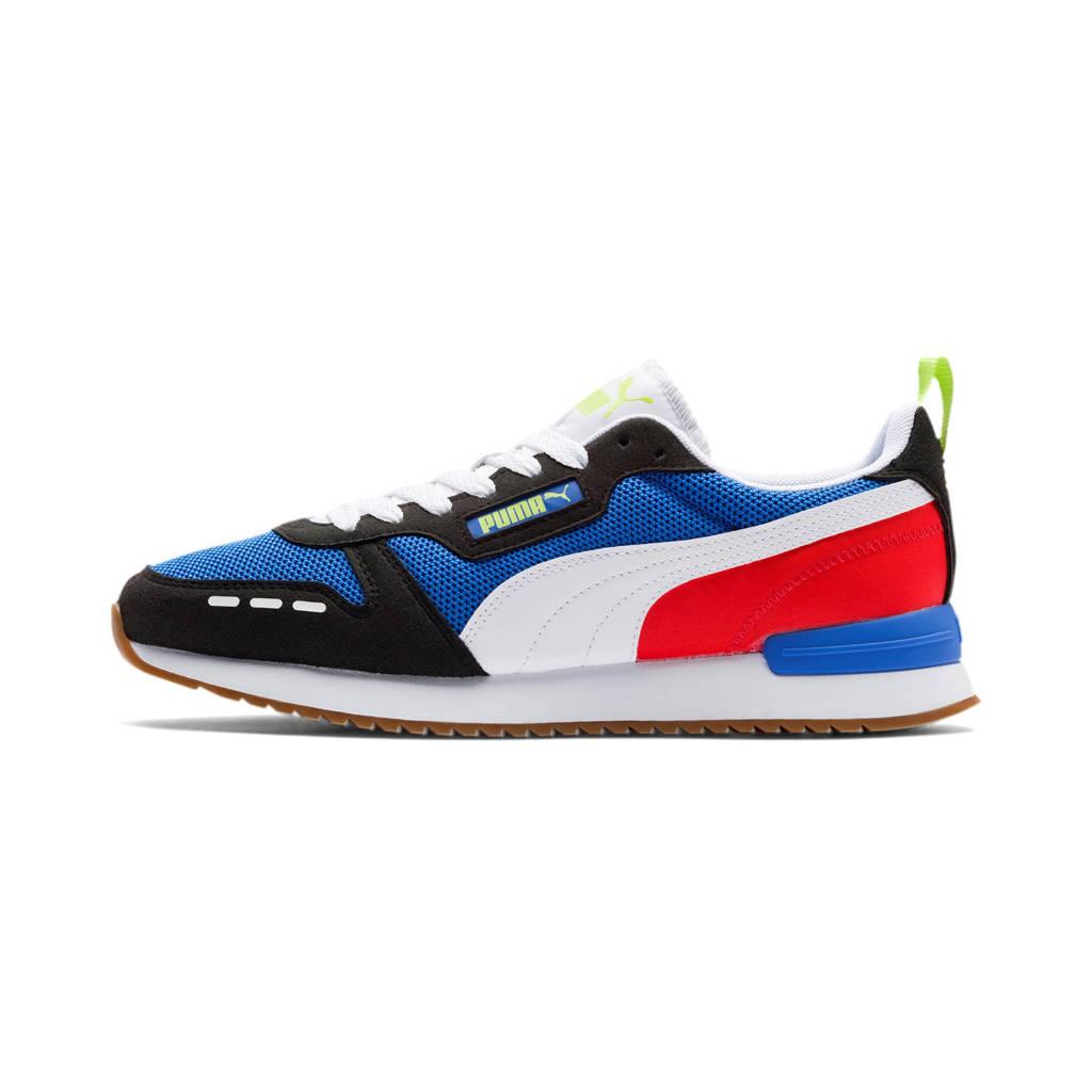 Puma R78  sneakers blauw/zwart/wit/rood, Kobaltblauw/zwart/wit/rood