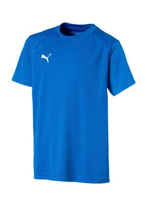 voetbalshirt blauw