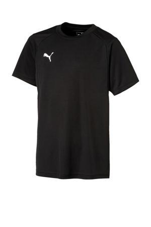Junior  voetbal T-shirt zwart