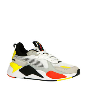 RS-X Toys sneakers wit/geel/oranje/zwart