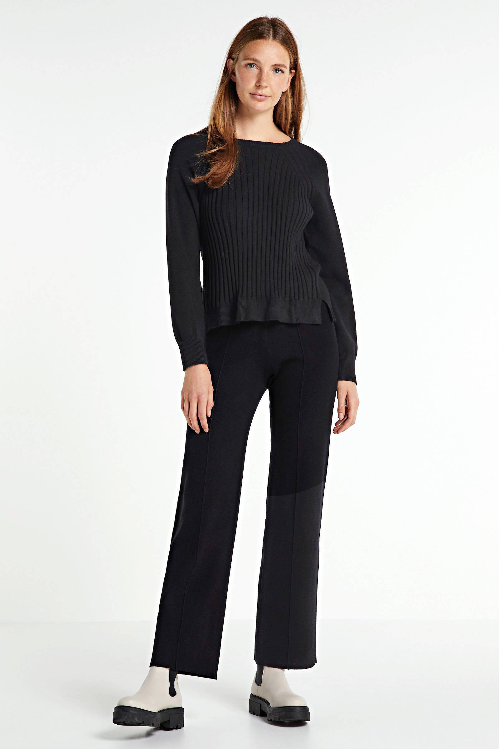 Soaked In Luxury trui zwart | wehkamp
