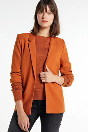 boyfriend fit blazer Shirley oranjebruin