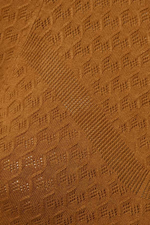 Soaked In Luxury trui Menika camel   wehkamp