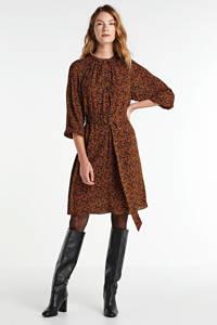 Soaked In Luxury gebloemde jurk Keto bruin/ zwart, Bruin/ zwart