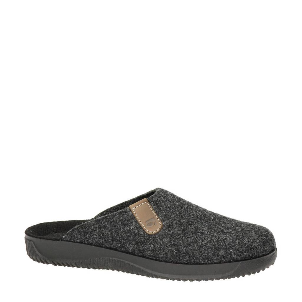 Rohde pantoffels grijs, Grijs