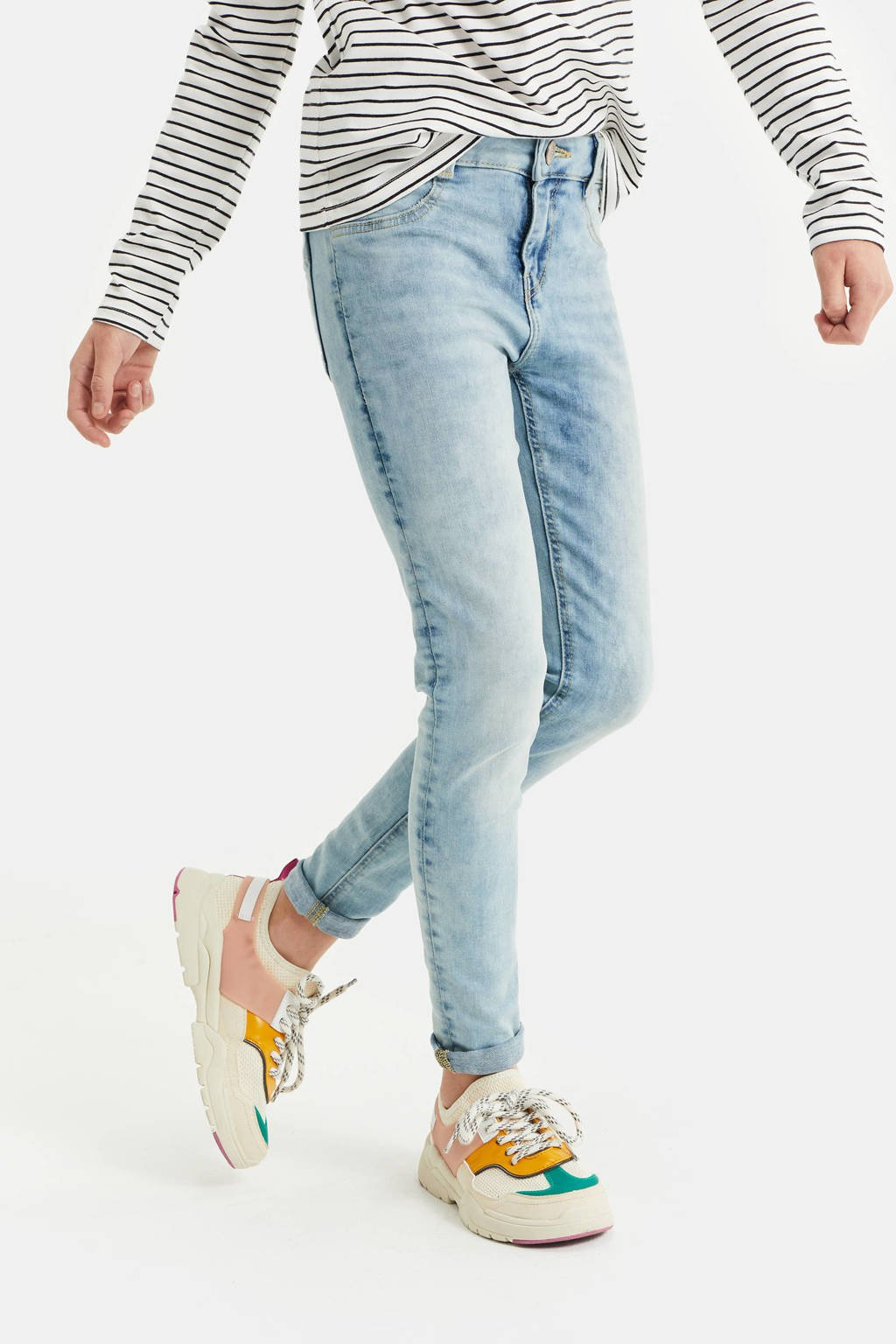 WE Fashion Blue Ridge super skinny jeans light denim, Light denim