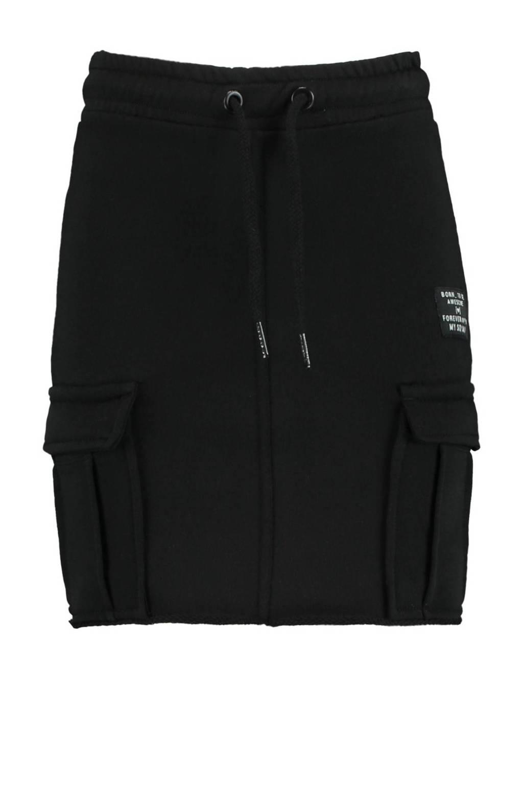 CoolCat Junior rok Riva zwart, Zwart