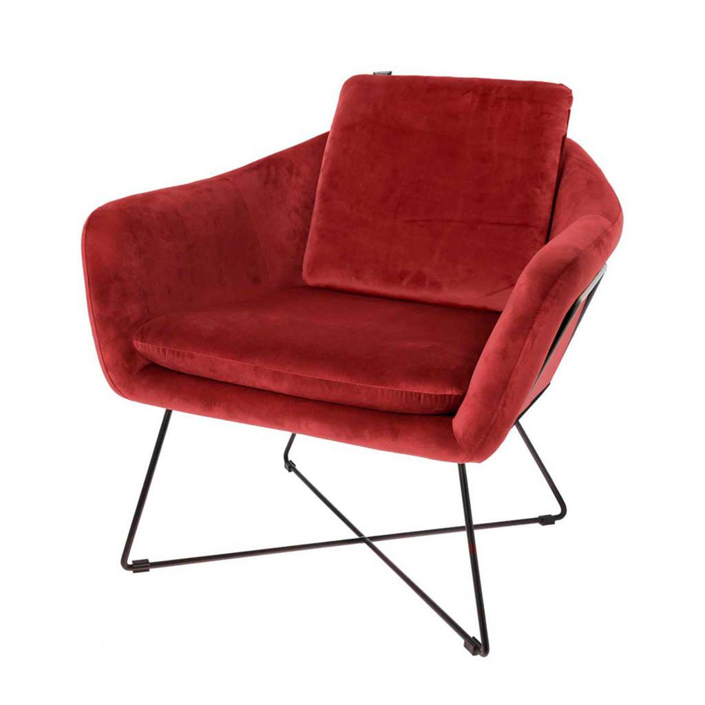 Riverdale fauteuil Ridge, burgundy