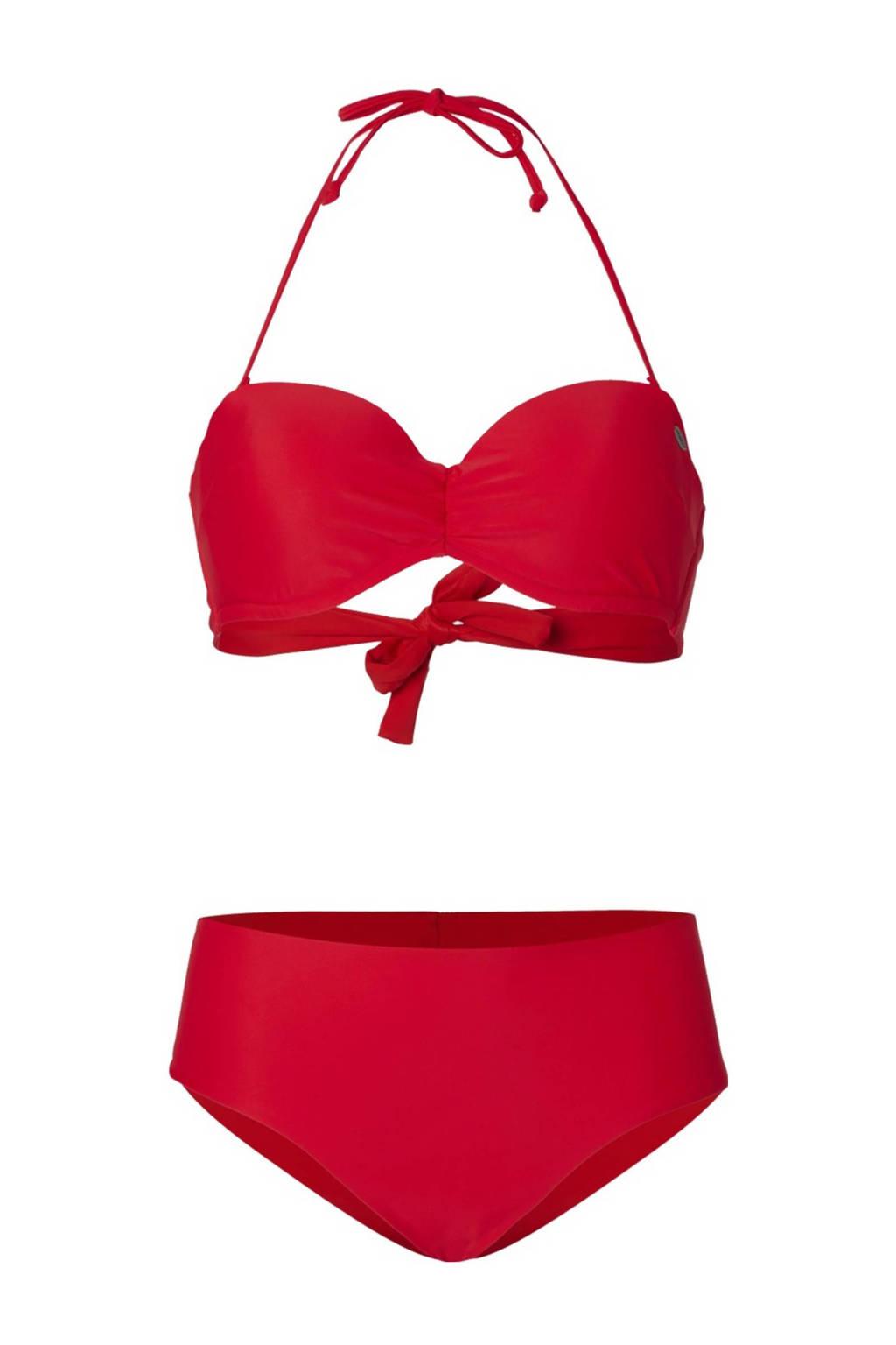 O'Neill strapless bandeau bikini Havaa rood, Rood