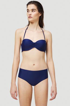 strapless bandeau bikini Havaa donkerblauw