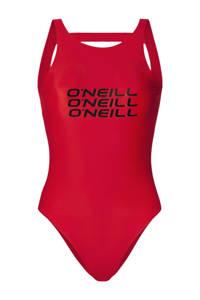 O'Neill high leg badpak Logo ROOD, Rood