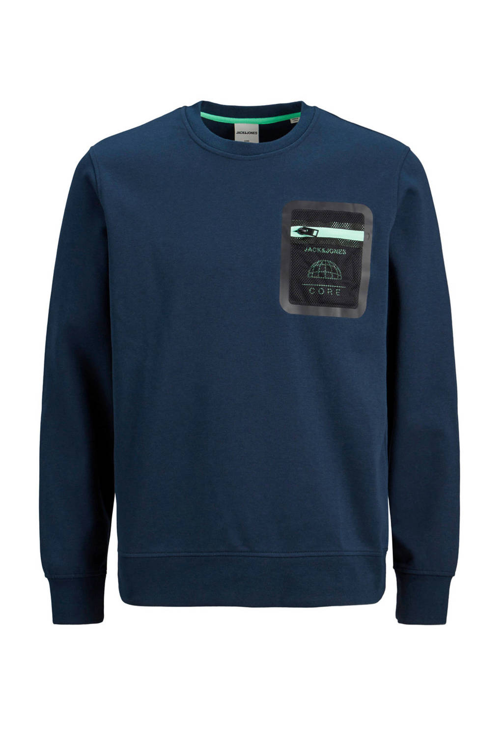 JACK & JONES CORE sweater donkerblauw, Donkerblauw