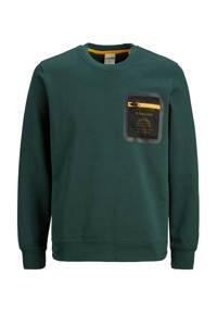JACK & JONES CORE sweater met printopdruk groen, Groen