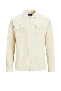 JACK & JONES ORIGINALS corduroy regular fit overhemd ecru, Ecru