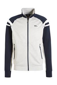 Sjeng Sports   vest grijs/donkerblauw/wit, Grijs/donkerblauw/wit