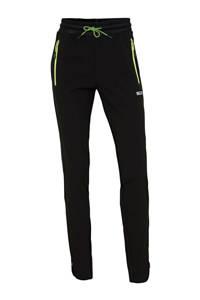 Sjeng Sports broek zwart/groen, Zwart/groen