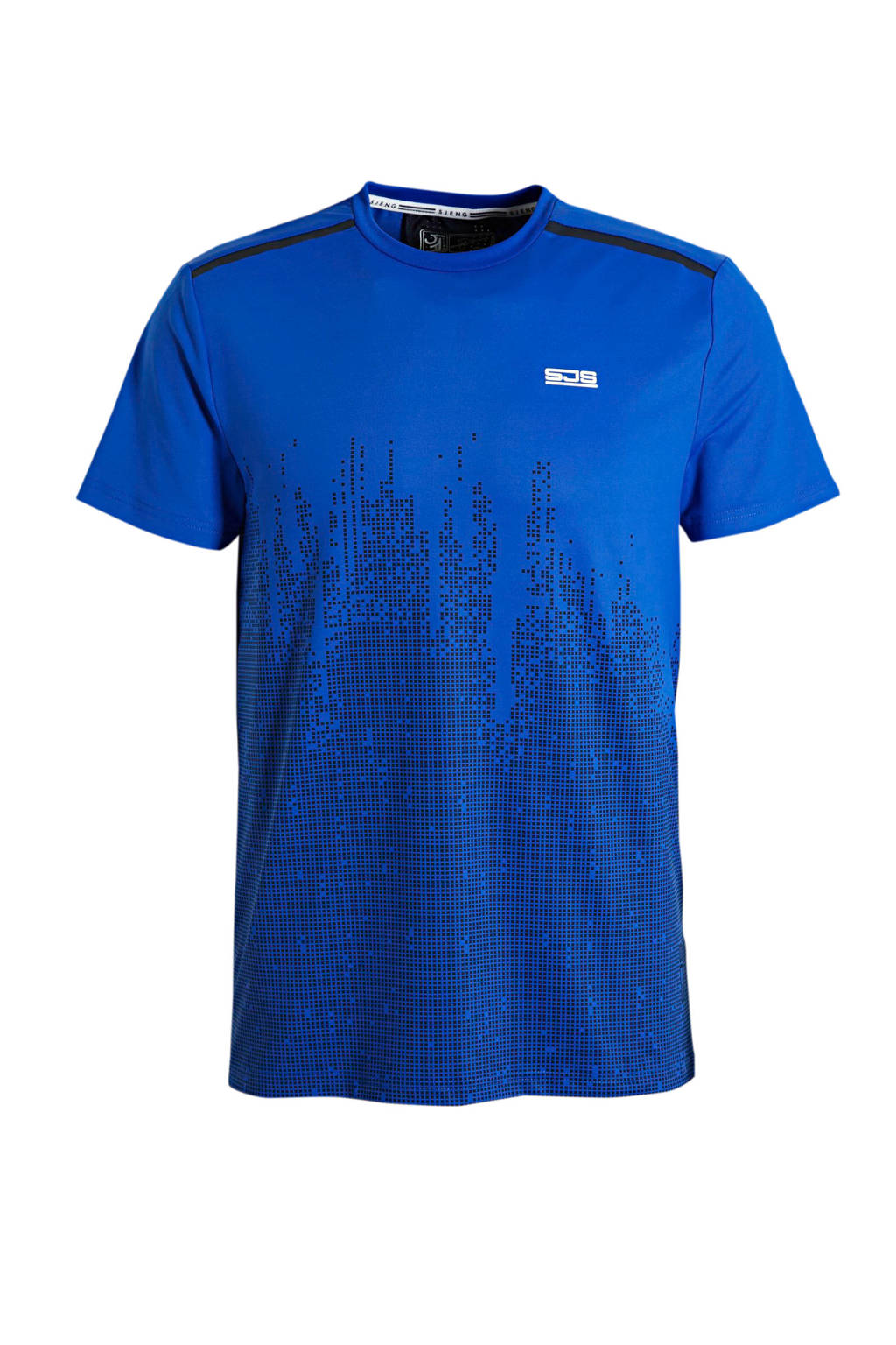 Sjeng Sports   T-shirt blauw, Blauw