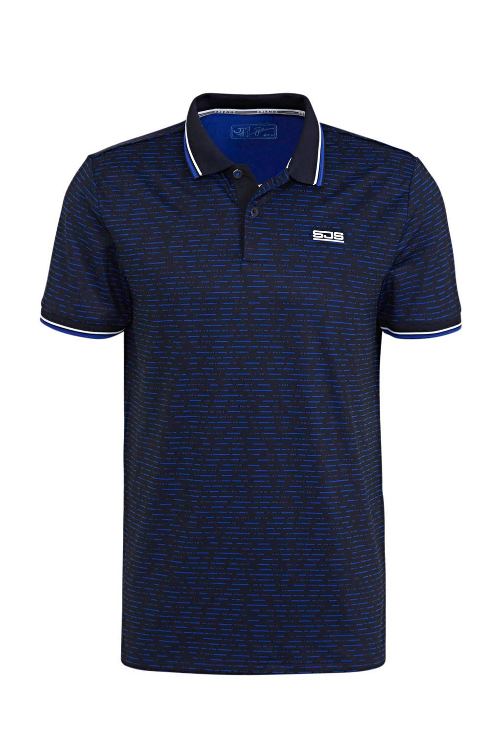 Sjeng Sports   polo donkerblauw, Donkerblauw