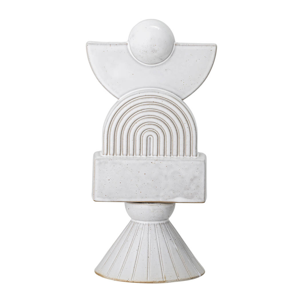 Bloomingville ornament, Wit