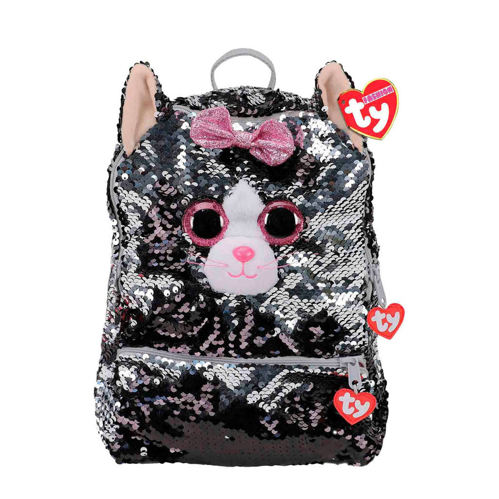 Ty Fashion Rugzak Kiki Cat Square
