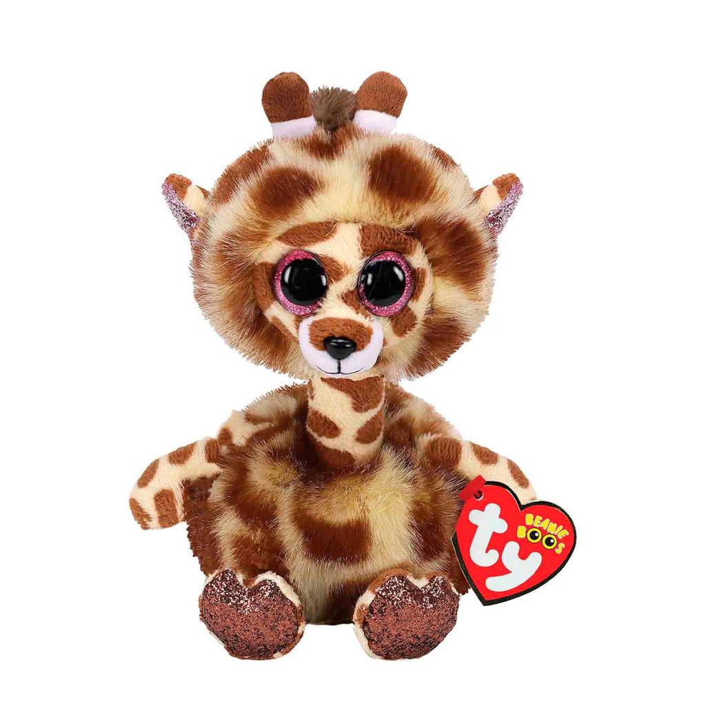 Ty Beanie Boo's Gertie Giraffe knuffel 15 cm