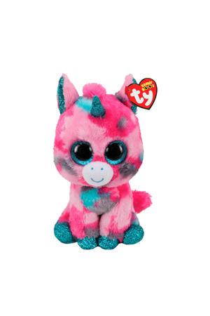 Beanie Buddy Gumball Unicorn knuffel 24 cm