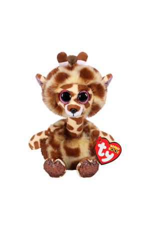 Beanie Buddy Gertie Giraffe knuffel 24 cm