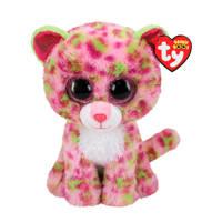 Ty Beanie Buddy Lainey Leopard knuffel 24 cm