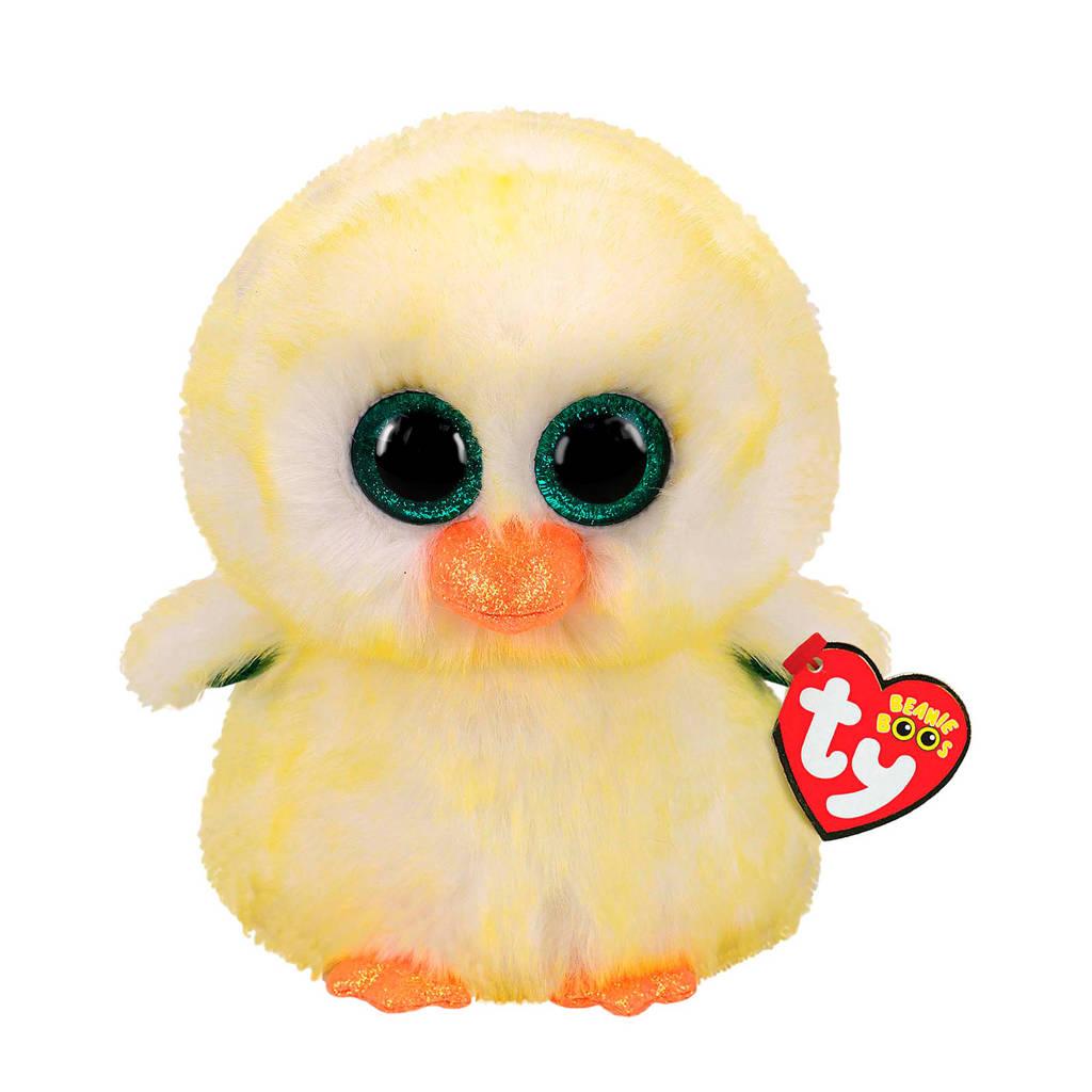 Ty Beanie Buddy Spring Lemon Drop Chicken knuffel 24 cm