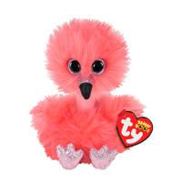 Ty Beanie Boo's Franny Flamingo knuffel 15 cm