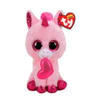 Ty Beanie Boo's Darling Heart Unicorn knuffel 15 cm