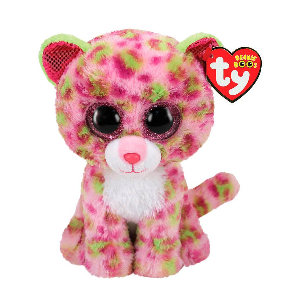 Ty Beanie Boo's Lainey Leopard knuffel 15 cm