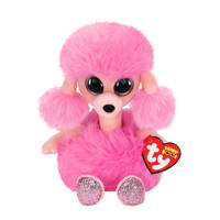 Ty Beanie Buddy Camilla Poodle knuffel 24 cm