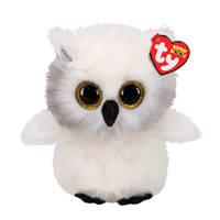 Ty Beanie Buddy Austin Owl knuffel 24 cm