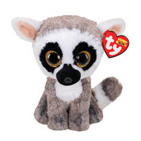 Ty Beanie Boo's Linus Lemur knuffel 15 cm