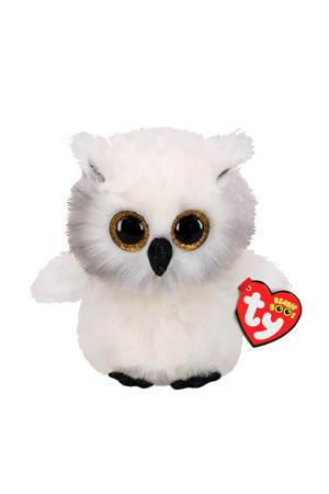 Beanie Boo's Austin Owl knuffel 15 cm