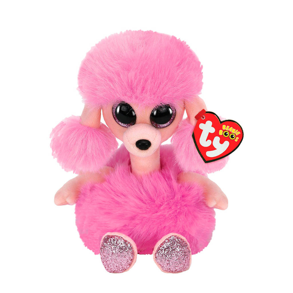Ty Beanie Boo's Camilla Poodle knuffel 15 cm